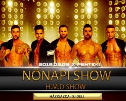 Nőnapi Show! Hot Man Dance