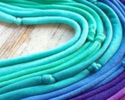 Textilékszer készítés Borgicával