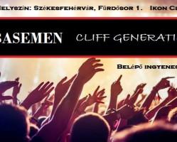 Basemen koncert: vendég a Cliff Generaiton