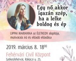 Lippai Marianna (Életkdv)  motivációs író előadása