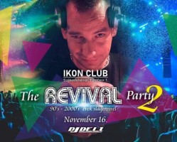 The Revival Party 2. / 90's - 2000's évek - Dj Deli