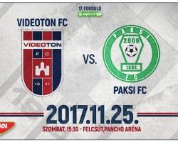 Videoton FC - Paksi FC