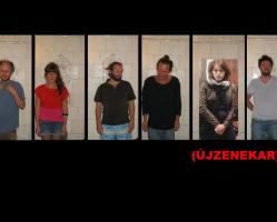 Újzenekar koncert  Ujházi Péter kiállításában