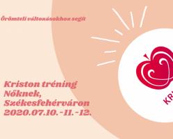 Kriston Itim Torna tréning Nőknek, Székesfehérváron