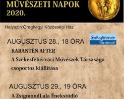21. Aranybulla Művészeti Napok
