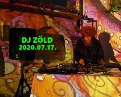 Fényfestés zeneszóra - DJ Zöld a Placcon!