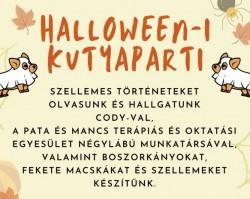 Halloween-i kutyaparti