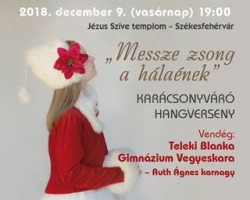 Vox Mirabilis Kamarakórus Karácsonyi koncertje