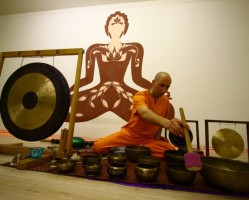 Hangfürdő tibeti hangtálakkal és gonggal