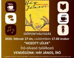 Liget Műhely Olvasóklub a Gárdonyi Géza Művelődési Ház és Könyvtárban
