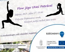Testébresztő mozgásos délután - Flow jóga Utasi Petrával