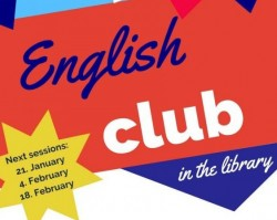 English club in the library