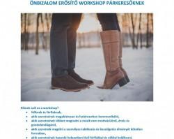 Önbizalom erősítő workshop párkeresőknek