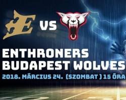 Fehérvár Enthroners-Budapest Wolves, HFL nyitómérkőzés