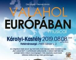 Valahol Európában Szabadtéri Koncert