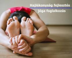 Hajlékonyság fejlesztő hatha jóga - kezdőknek is!