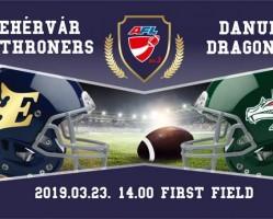 Fehérvár Enthroners - Danube Dragons II
