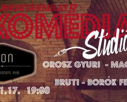 Stand up comedy live az Ikonban