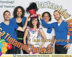 Farkasházi Réka és a Tintanyúl zenekar