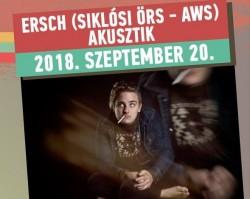 Akusztik kispéntekek a Petőfiben ✦ Ersch (Siklósi Örs - AWS)