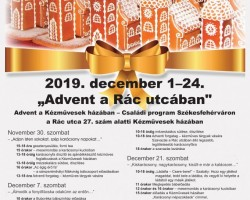 """Advent a Rác utcában"