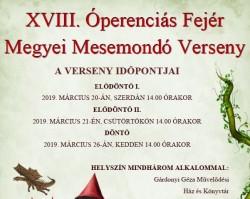 XVIII. Óperenciás Megyei Mesemondó Verseny