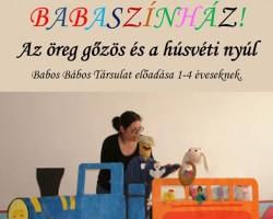 Az öreg gőzös és a Húsvéti nyúl - Babaszínház