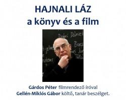 Író-olvasó találkozó Gárdos Péter filmrendezővel