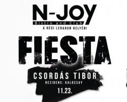 Latin Night sztárvendég: Fiesta