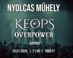 KEOPS /HR/, Overpower /HR/, Gépmadár