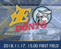 Enthroners-Sharks U17 Döntő