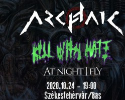 Archaic / Kill With Hate / At Night I Fly