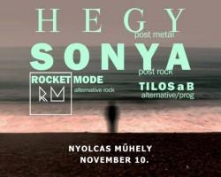Post-Rock Est: Hegy, Sonya, Rocket Mode, Tilos a B