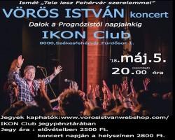 VÖRÖS István zenekaros koncert és dedikálás