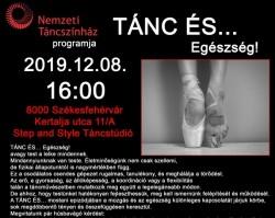 TÁNC ÉS… Egészség! Lakatos János nívódíjas koreográfus előadása