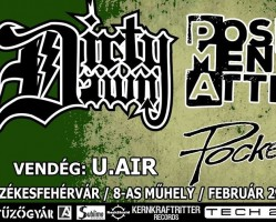 Dirty Dawn, PMA, Pocket Fox, U.Air koncert # Nyolcas Műhely