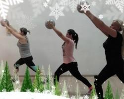 Karácsonyi body-ball edzés