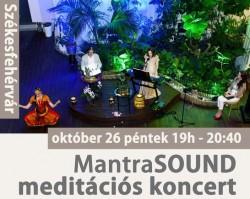MantraSOUND meditációs koncert