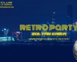 Zoltán Erikával Retro Party a 90-es évek zenéire