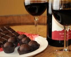 Olasz bor és csokoládé kóstoló