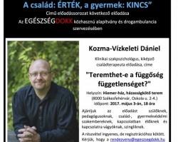 Teremthet-e a függőség függetlenséget? - Kozma-Vízkeleti Dániel előadása