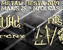 Metal Fiesta '19 - Samas, Éjfény, NoTS, Lay, Manimal Inc.