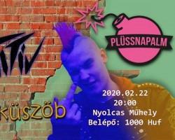 Punk farsang: Primitív, Plüssnapalm, Ingerküszöb # Nyolcas Műhely