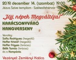 KARÁCSONYVÁRÓ HANGVERSENY