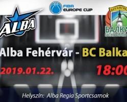 Alba Fehérvár - BC Balkan