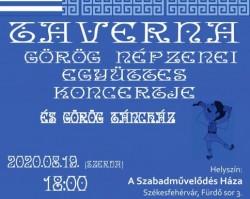 Taverna Népzenei Együttes koncertje és Görög táncház