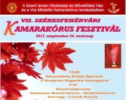 VII. Székesfehérvári Kamarakórus Fesztivál