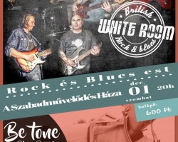 White Room & Be tone Blues Band koncert
