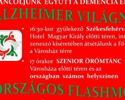 ORSZÁGOS FLASHMOB-szenior örömtánc - ALZHEIMER VILÁGNAP