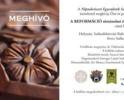 A  reformáció történelmi és kulturális öröksége az élő népművészetben